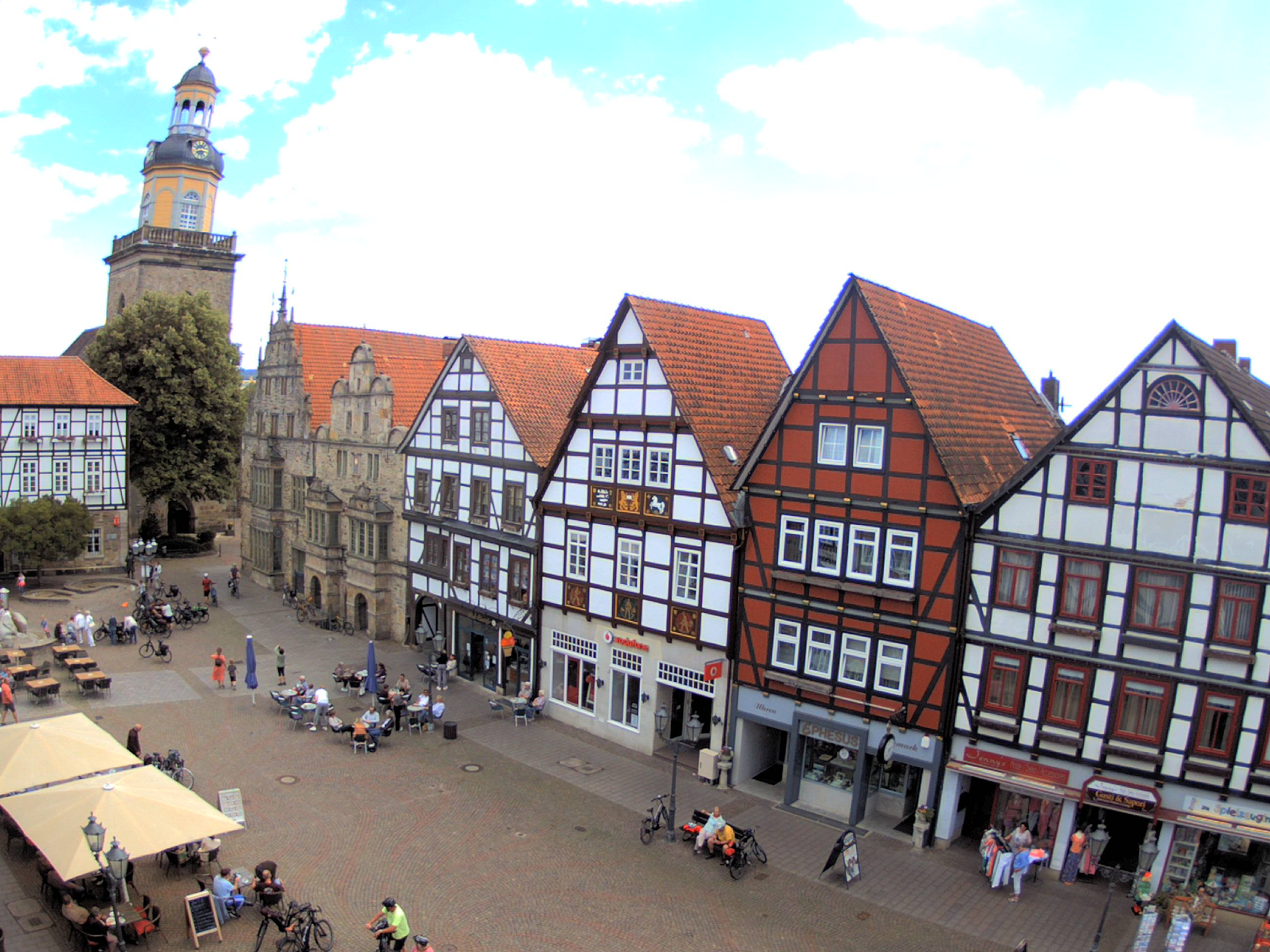 Webcam Marktplatz Rinteln